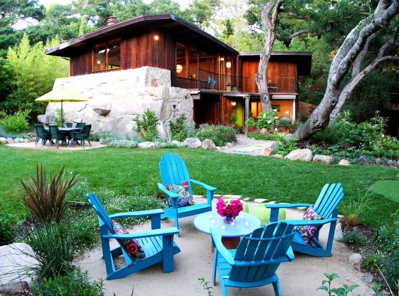 Lounge Patio in the Garden