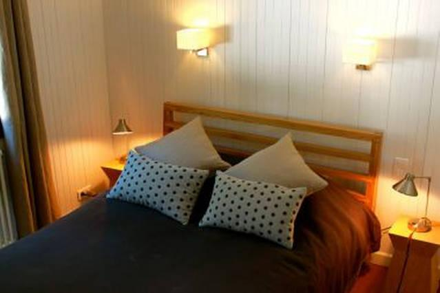 Adult bedroom with double bed