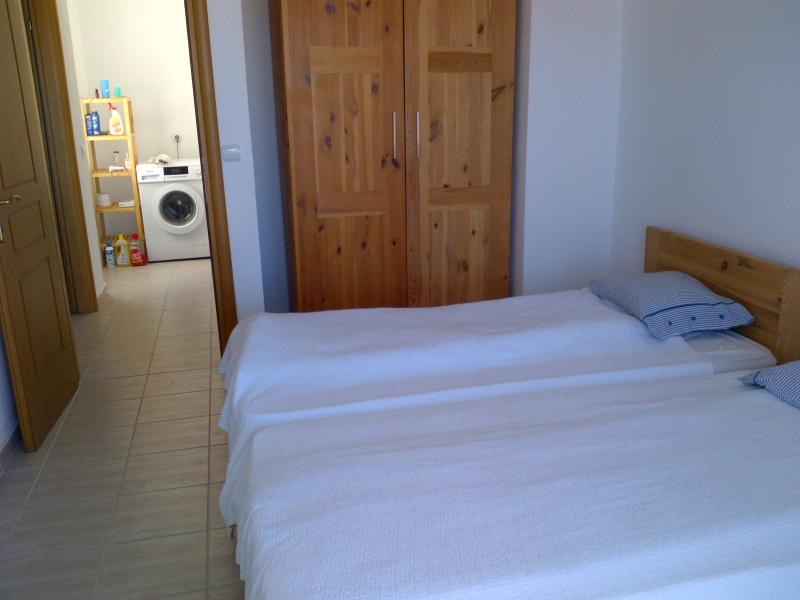 room 1-two single beds
