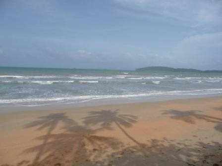 The Klong muang Beach