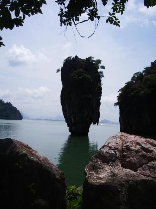 James Bond Rock in Phang Nga