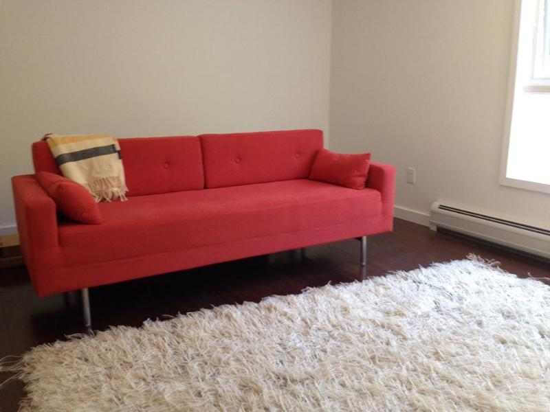 TV/sofabed room