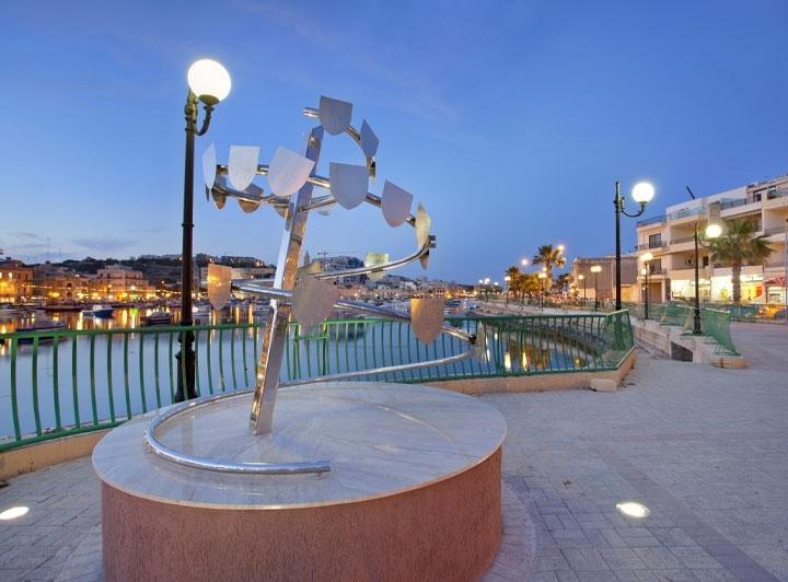 Marsascala promenade 5mins by walk from apt