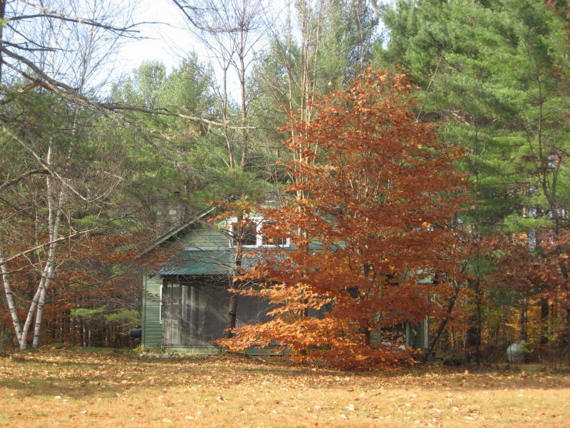 Hacia el oeste en el otoño