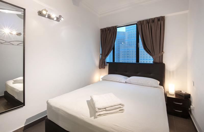 Bedroom 2, with queen size double bed