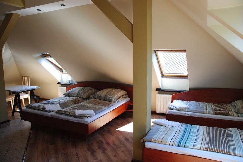 persons room really cosy with private bathroom at  Villa Chamonix,100 metres of Miedzybrodzie lake
