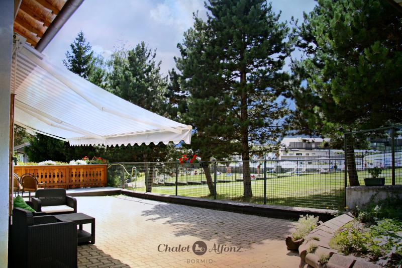 Chalet Alfonz | balcone attrezzato - equipped balcony