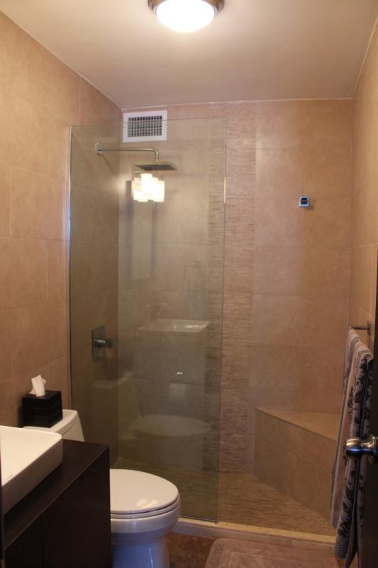 Modern rain shower.