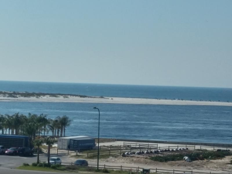 View of the Pass to the Gulf and the State Park from the front balcony