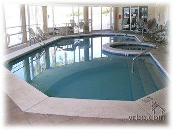 Indoor Pool and Hot Tub. There's also a Sauna and Steam Room