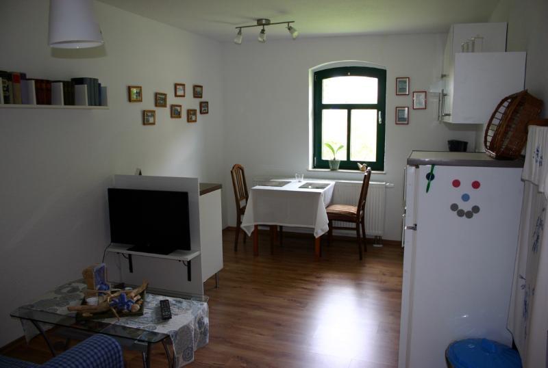 Herberge am Jakobsweg - Ferienwohnung 2, aluguéis de temporada em Halle (Saale)