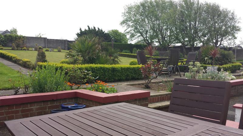 Patio rear gardens