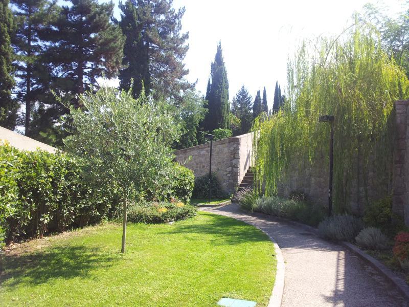 Garden of club house