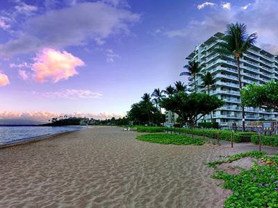 The Whaler is located right on the sands of Kaanapali Beach!