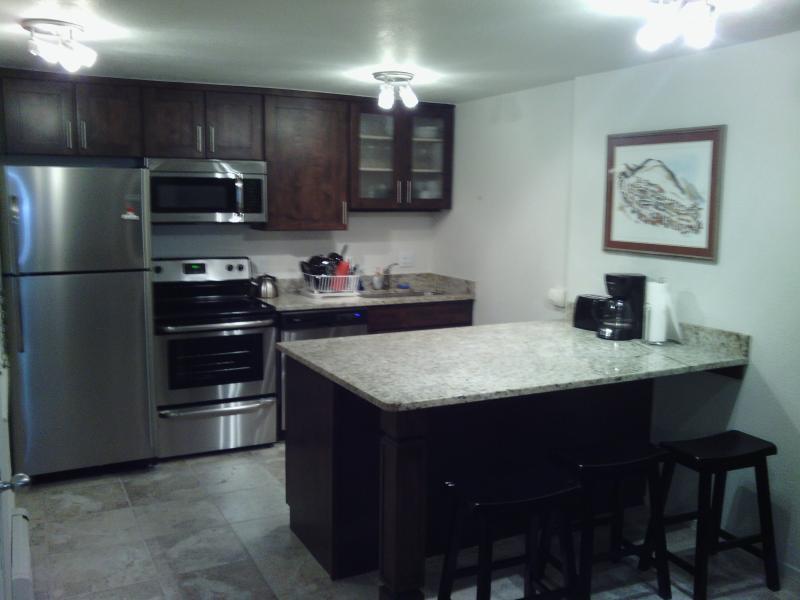 New kitchen stainless steel