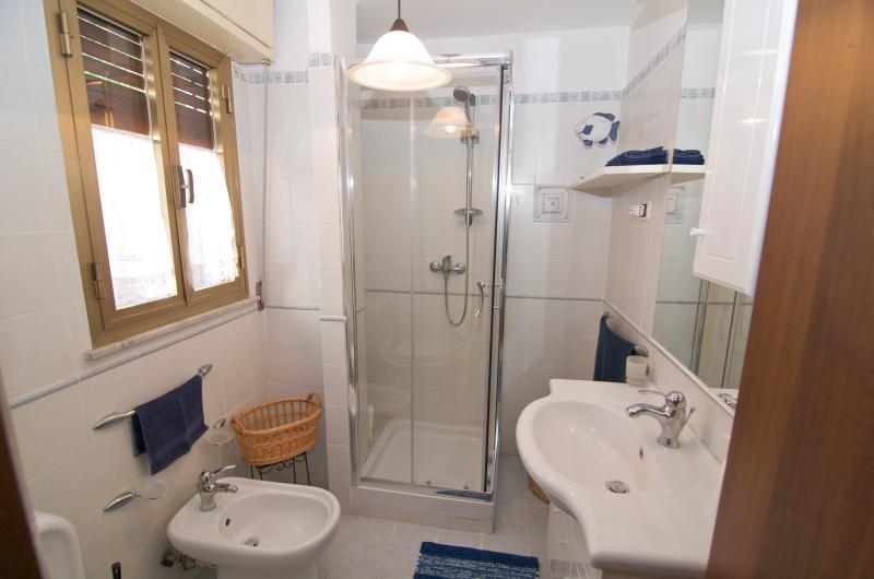 Cuarto de baño con vistas a ducha 1