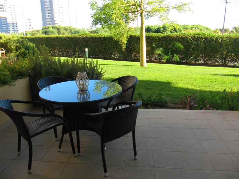 Large Terrace With Patio Furniture