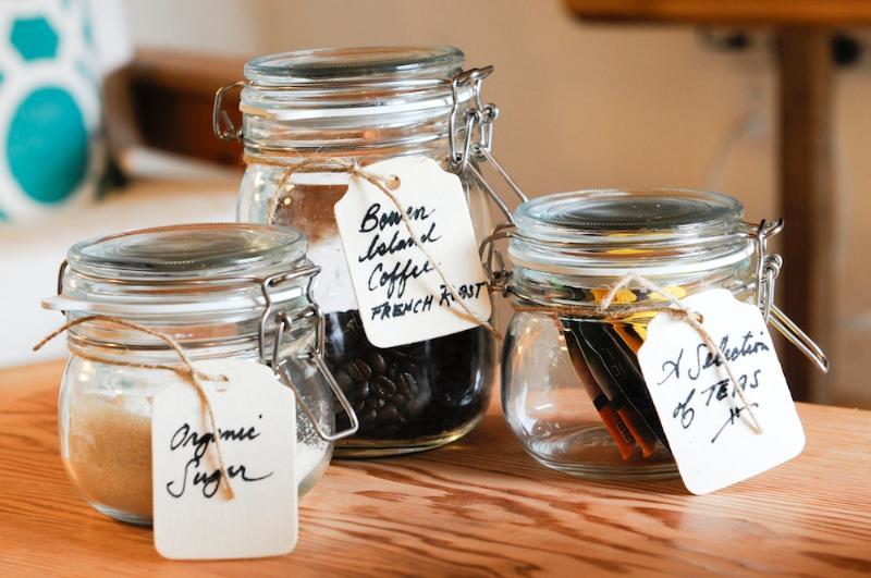Nectar Yoga B&B Bowen Island Coffee/Tea