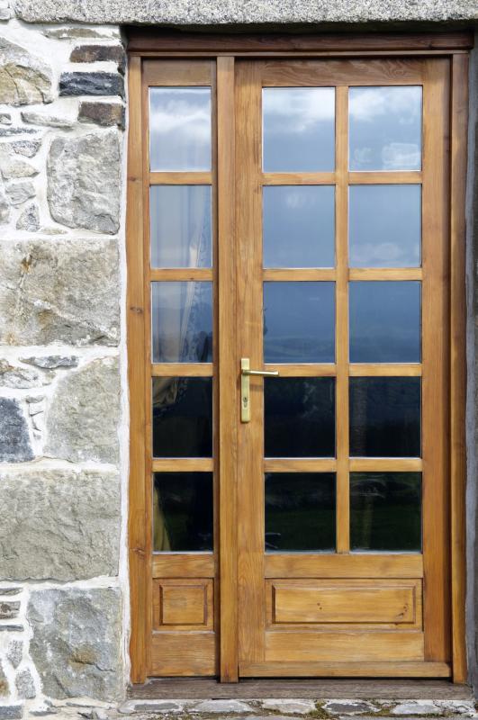 Master Bedroom French door to the garden