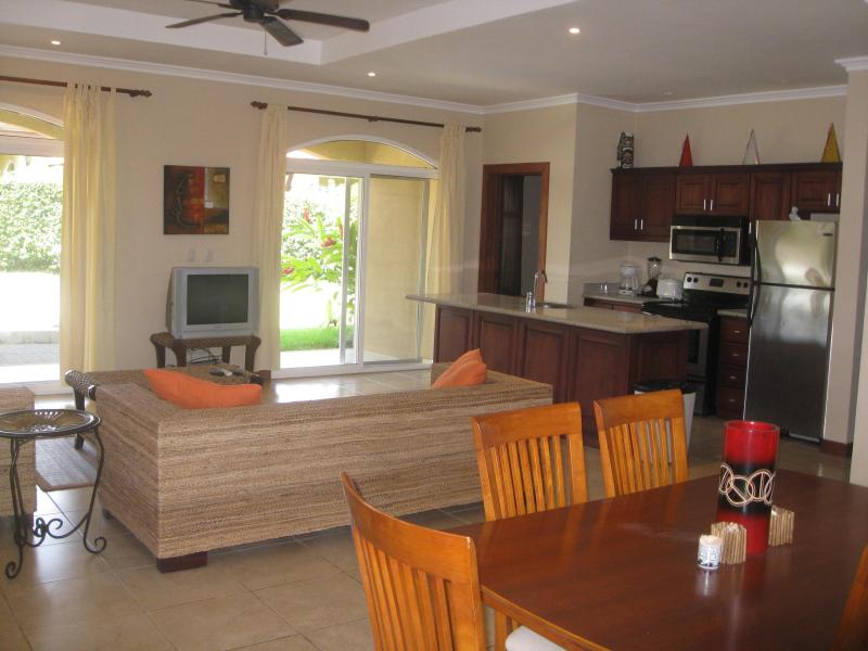 Open layout perfect for a BBQ or family gathering.