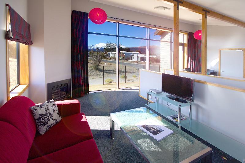 Lounge, Parkview Apartments, Tongariro National Park