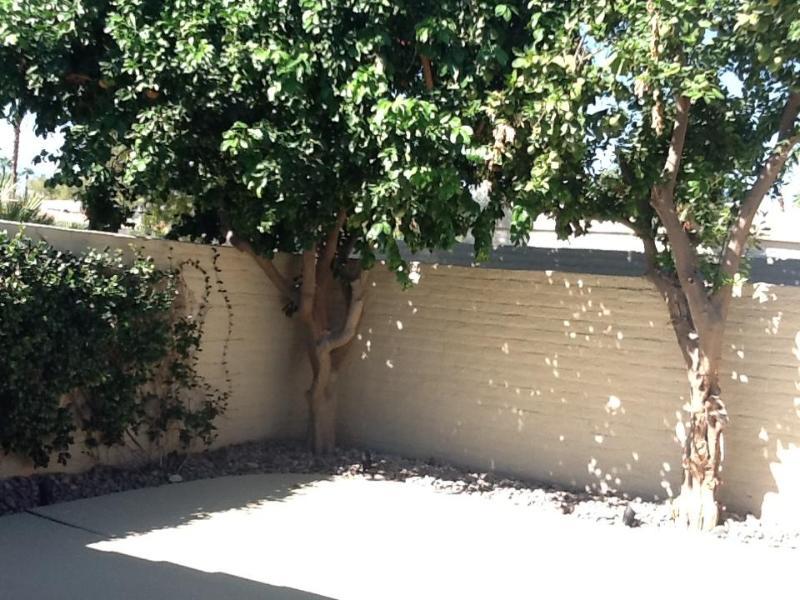 Front court yard