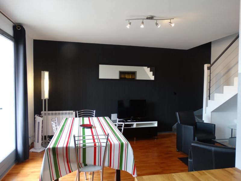Un décor contemporain pour cet appartement en dupleix, au calme, mais proche du centre de Biarritz