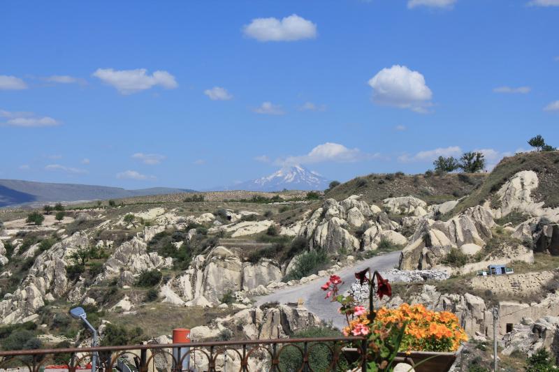 Landscape from Terrace- Erciyes Mountain-Cappadocia Landscape