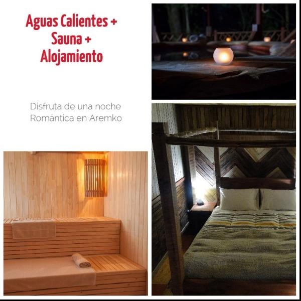 Deluxe Suite in Aremko Aguas Calientes, location de vacances à Ensenada