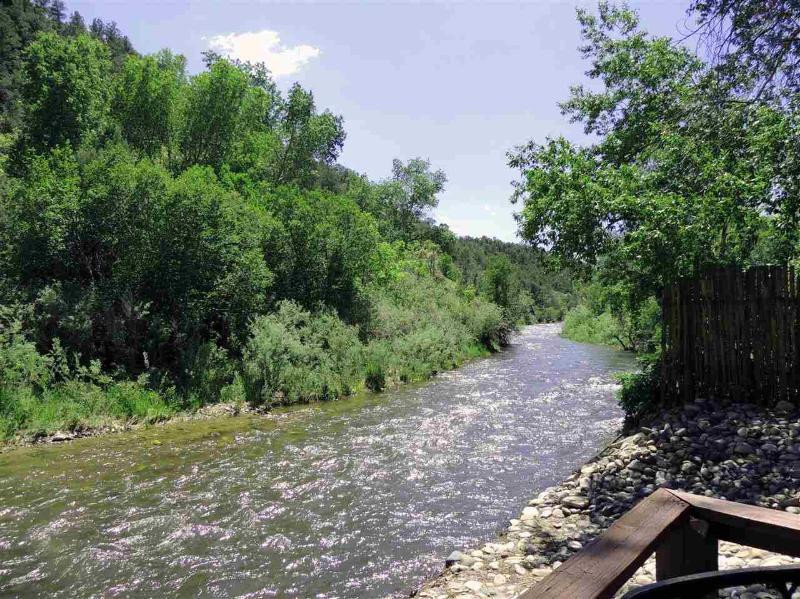 River View Blick nach Westen vom deck