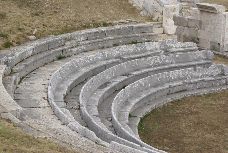 Samnite theatre of Pietrabbondante