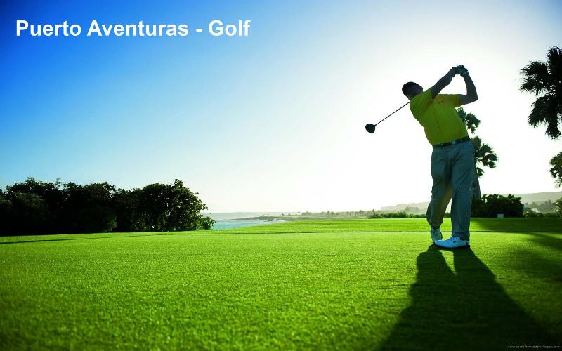 Puerto Avenuras offers may activities - Golf course just a short walk from condo