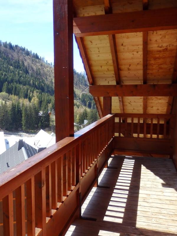 Chalet Folie balcony - also great for bikes