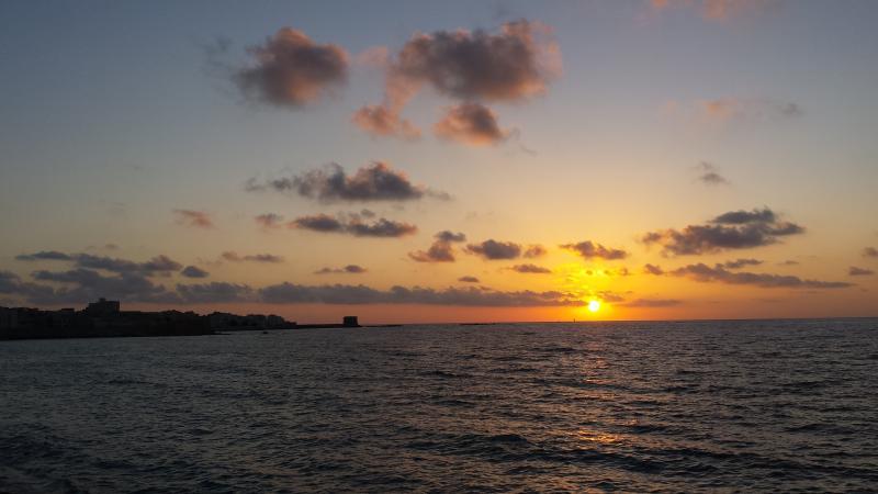 Girando semplicemente l'angolo potete ammirare fantastici tramonti