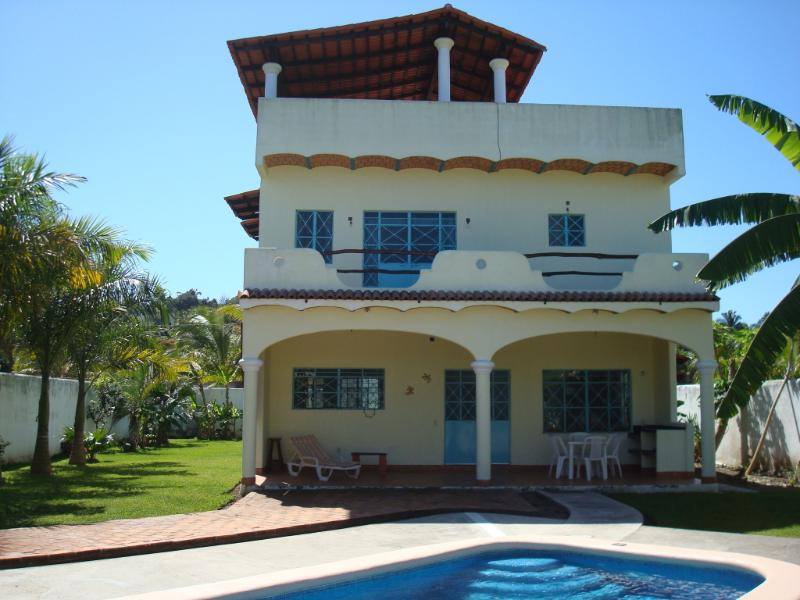 Gorgeous Home w/pool, Beach-2Blks.RATES LOWERED!!, holiday rental in Lo de Marcos