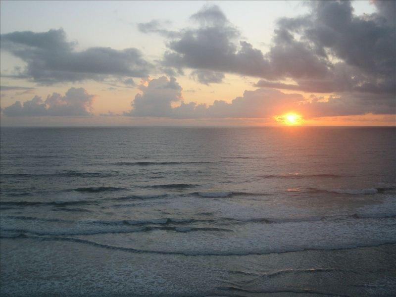 Sunrise from the Balcony ~ Shouldn't you be here?