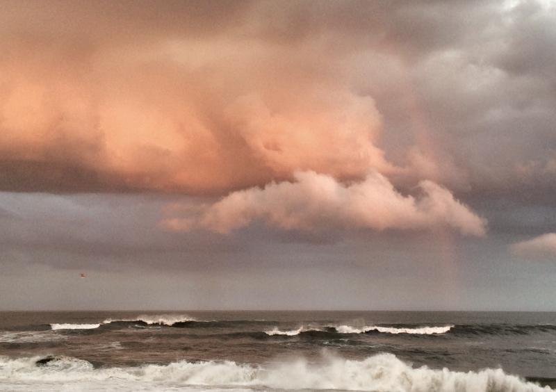 GORGEOUS SKIES OVER OCEAN