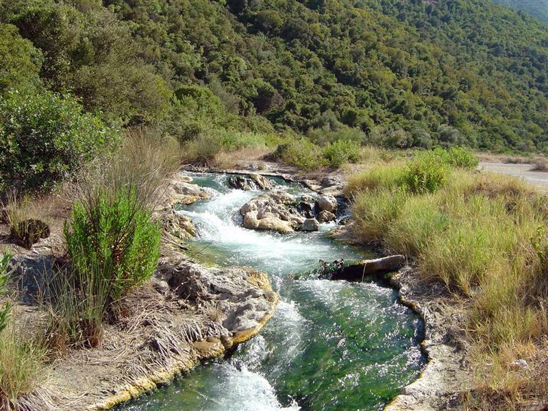 The Thermopylae Hot Springs (requires car)