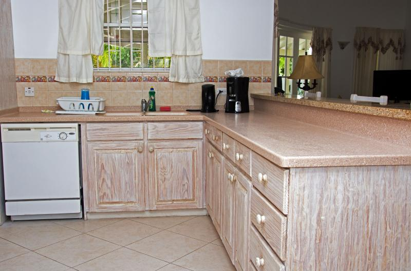 kitchen ample counter space