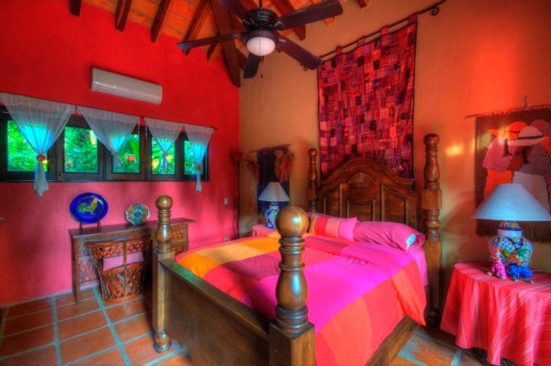 Third bedroom in a separate casita