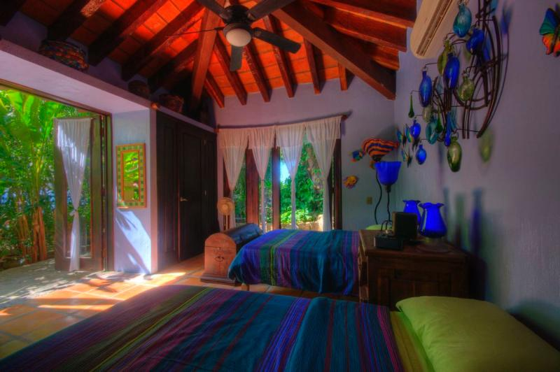 Fourth bedroom in a separate casita