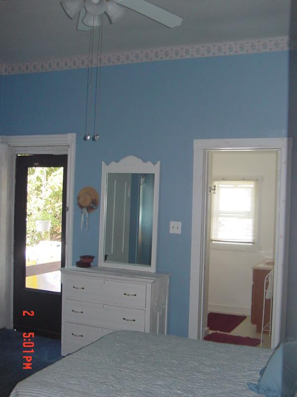 Master Bedroom has Queen bed and a private bathroom
