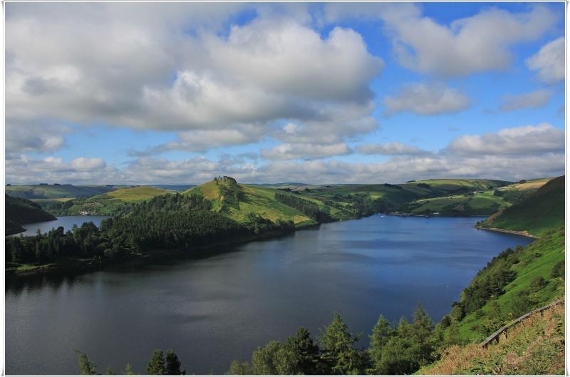 Clywedog reservoir
