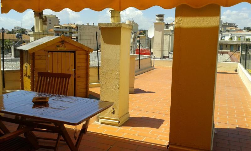 grande terrasse/solarium