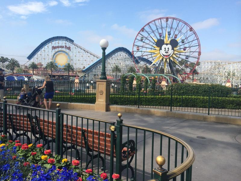 Disney California Adventure Park is just 6 miles away.