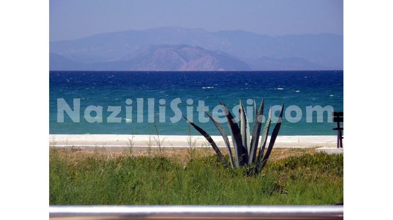Vista de Samos do terraço