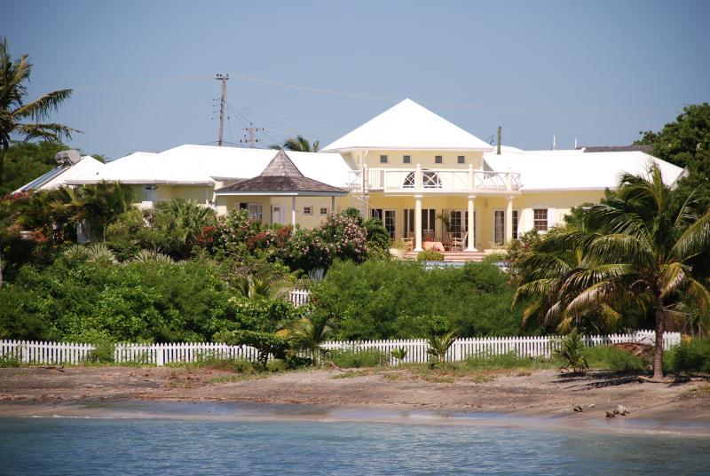 Villa from the bay