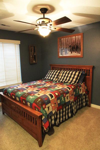 Dormitorio 2: Cama Full, tema fauna