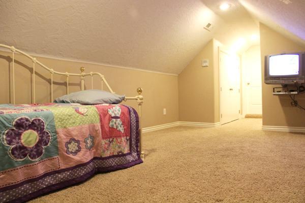 Cama del desván sala 5: 2 camas individuales
