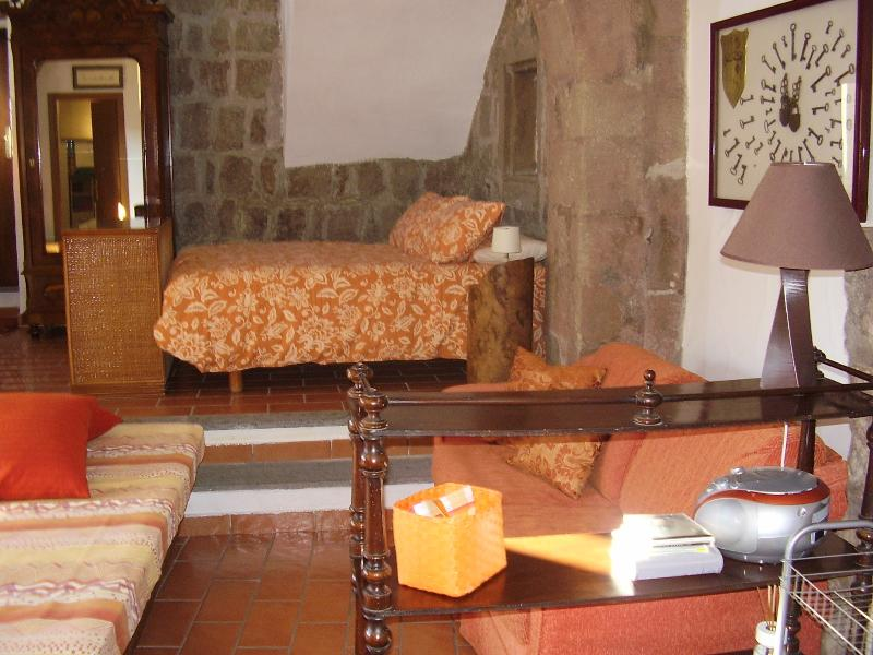 Lovely and cosy apt in medieval area of Viterbo, vacation rental in San Martino al Cimino